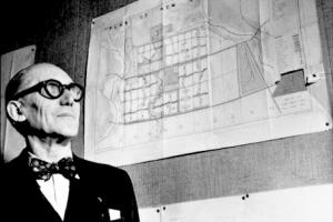 icona e culto della personalità: Le Corbusier
