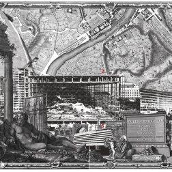 Carlo Prati. La Mappa delle sette rovine. 2014 dettaglio con navigatore