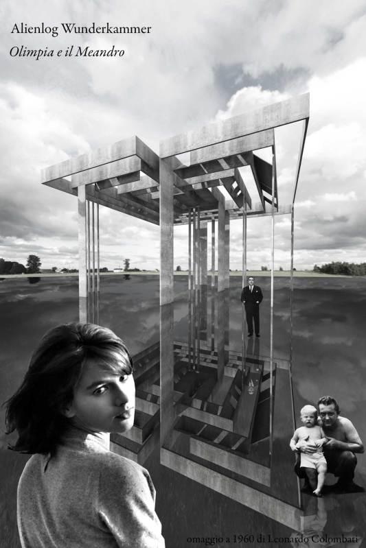 Olimpia e il Meandro (omaggio a 1960 di L.Colombati). collage digitale