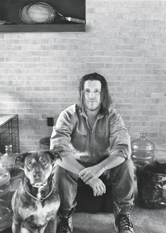 David Foster Wallace. foto di Stephanie Diani/hh.